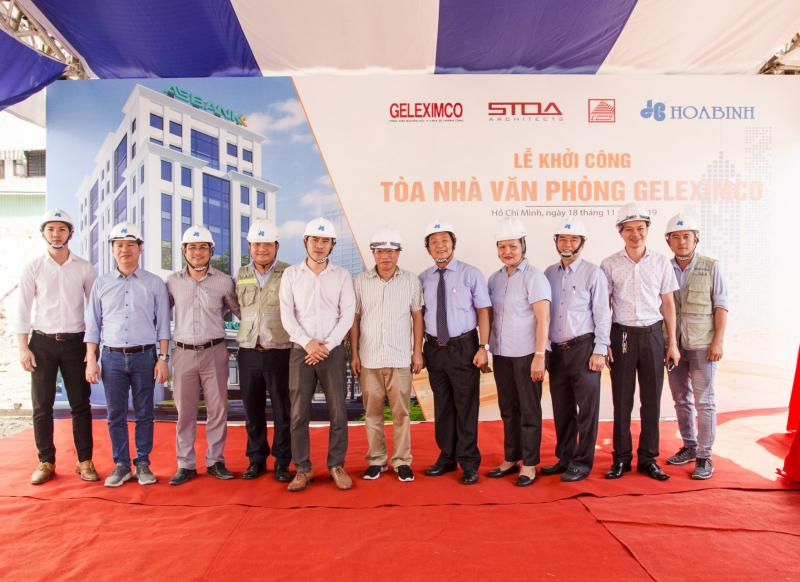 Geleximco Office's Ground Breaking Ceremony